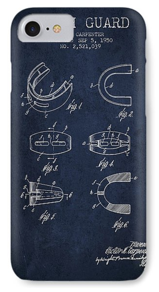 1950 Tooth Guard Patent Spbx16_nb IPhone Case by Aged Pixel