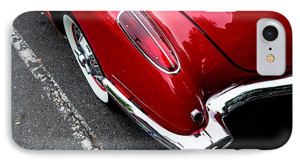 IPhone Case featuring the photograph 1959 Corvette by M G Whittingham