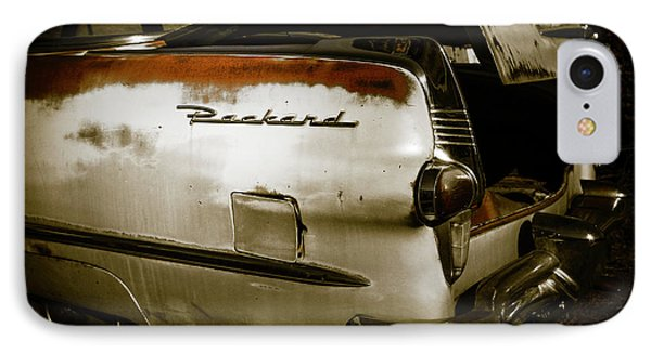 IPhone Case featuring the photograph 1950s Packard Trunk by Marilyn Hunt