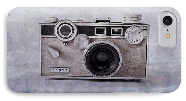 1950's Vintage Argus Camera With Filmstrip Border IPhone Case