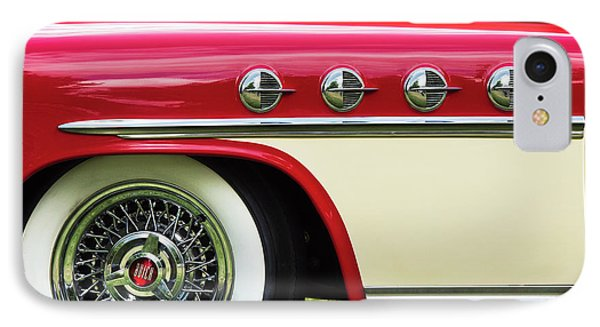 IPhone Case featuring the photograph 1951 Buick Roadmaster Fender by Tim Gainey