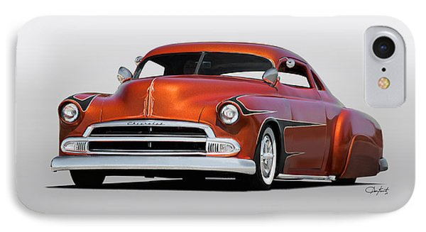 1951 Chevrolet Custom Coupe Phone Case by Dave Koontz