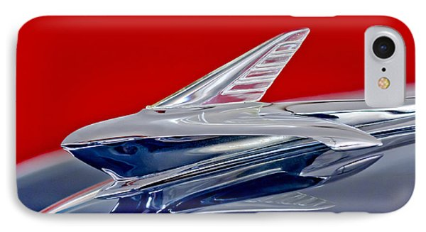 1951 Ford Woodie Hood Ornament Phone Case by Jill Reger