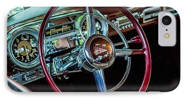 1951 Hudson Hornet IPhone Case by M G Whittingham