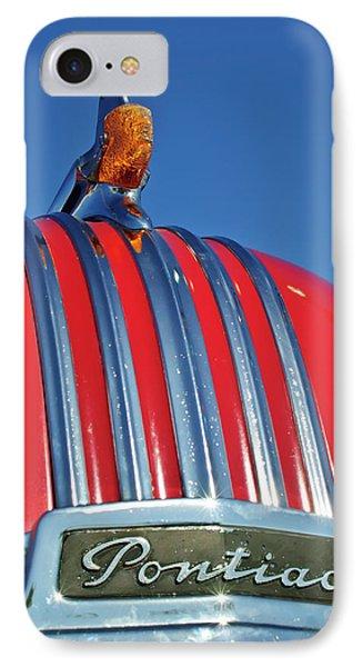 1951 Pontiac Chief Hood Ornament 2 Phone Case by Jill Reger