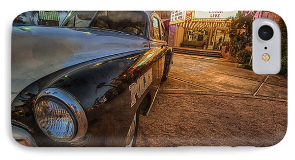 IPhone Case featuring the tapestry - textile 1952 Chevy  by Kathy Adams Clark
