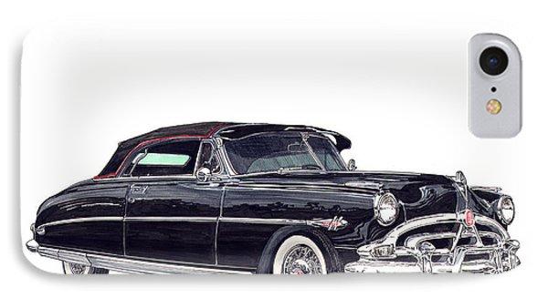 1952 Hudson Hornet Convertible Phone Case by Jack Pumphrey