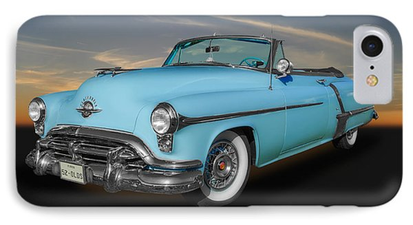 IPhone Case featuring the photograph 1952 Oldsmobile 98 Convertible by Frank J Benz