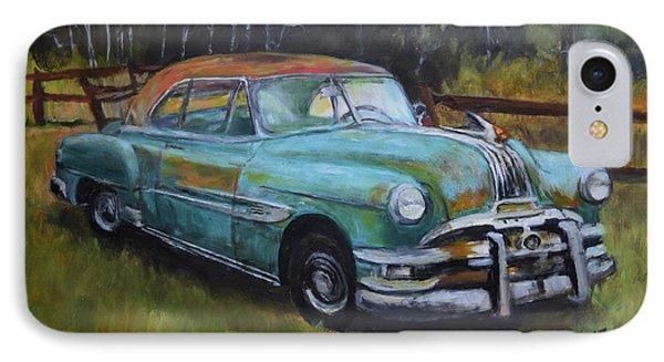 1952 Pontiac Chieftain  IPhone Case by Sandra Nardone