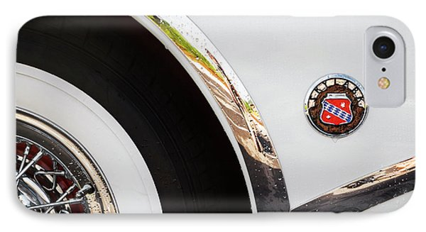 IPhone Case featuring the photograph 1953 Buick Abstract 2 by Dennis Hedberg