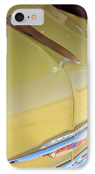 1953 Chevrolet Bel Air Hood Ornament Phone Case by Jill Reger