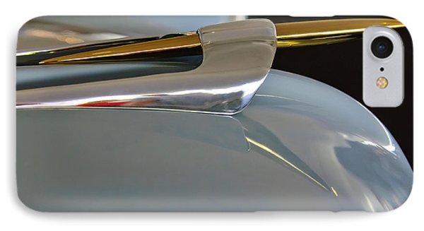 1953 Lincoln Capri Hood Ornament 2 Phone Case by Jill Reger