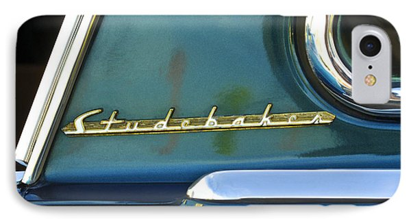 1953 Studebaker Champion Starliner Abstract IPhone Case by Jill Reger