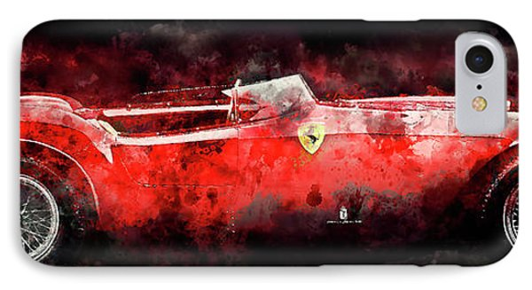 1954 Ferrari 375 IPhone Case by Jon Neidert