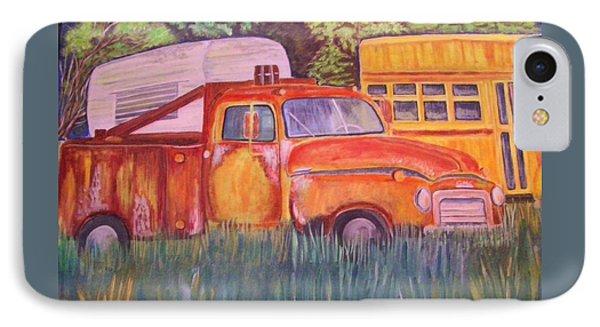 1954 Gmc Wrecker Truck IPhone Case