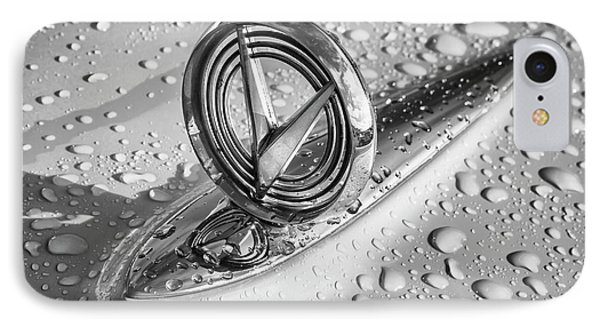IPhone Case featuring the photograph 1955 Buick Hood Ornament 2 by Dennis Hedberg