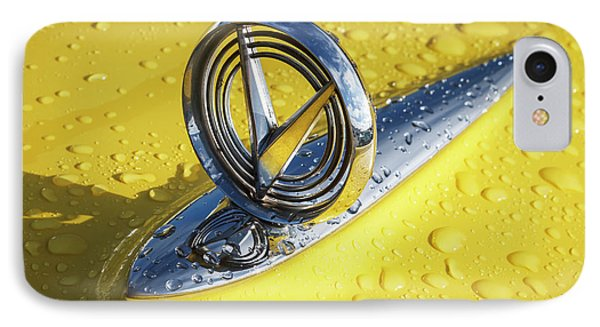 IPhone Case featuring the photograph 1955 Buick Hood Ornament by Dennis Hedberg