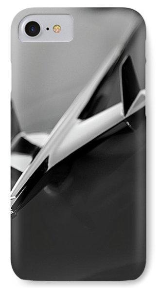 1955 Chevrolet Belair Hood Ornament 2 Phone Case by Jill Reger