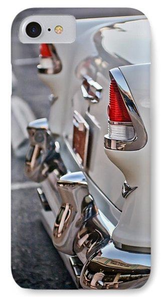 1955 Chevrolet Belair Tail Lights Phone Case by Jill Reger