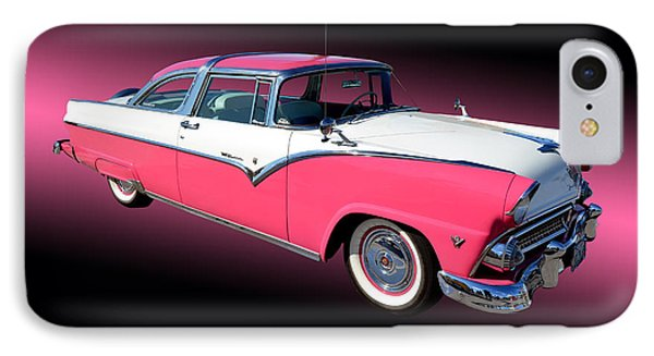 1955 Ford Fairlane Crown Victoria Phone Case by Jim Carrell