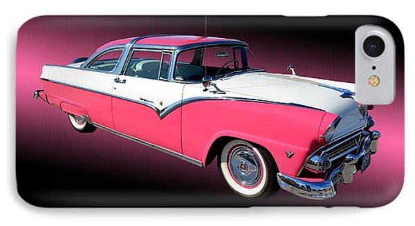 1955 Ford Fairlane Crown Victoria IPhone Case by Jim Carrell