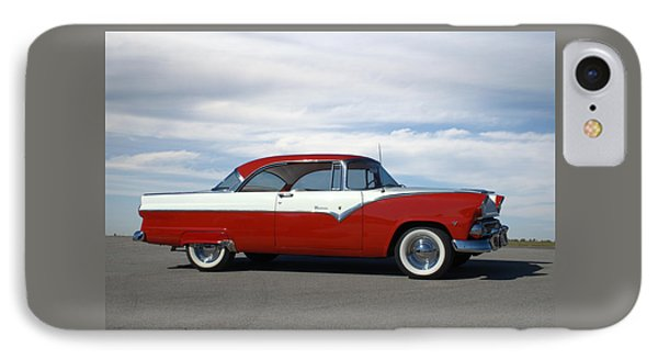 IPhone Case featuring the photograph 1955 Ford Victoria by Tim McCullough
