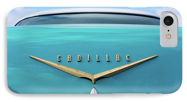 IPhone Case featuring the photograph 1956 Cadillac Sedan De Ville by Tim Gainey