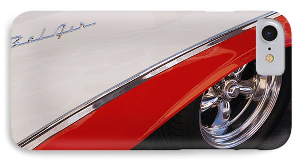 1956 Chevrolet Belair Convertible Wheel IPhone Case