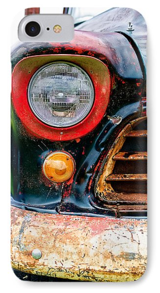 1956 Chevy 3200 Pickup Grill Detail IPhone Case by Jon Woodhams