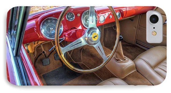 1956 Ferrari 250 Gt Boano Alloy Interior IPhone Case