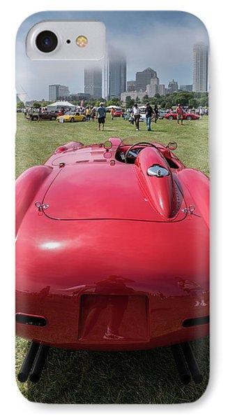 IPhone 7 Case featuring the photograph 1956 Ferrari 290mm - 2 by Randy Scherkenbach