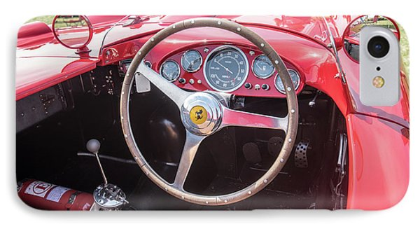 IPhone 7 Case featuring the photograph 1956 Ferrari 290mm - 4 by Randy Scherkenbach