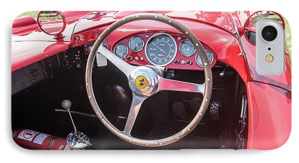 IPhone Case featuring the photograph 1956 Ferrari 290mm - 4 by Randy Scherkenbach
