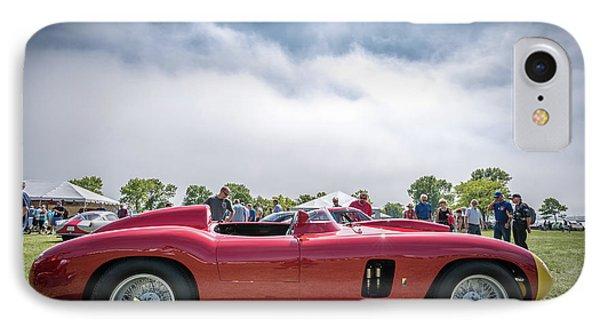 IPhone 7 Case featuring the photograph 1956 Ferrari 290mm by Randy Scherkenbach