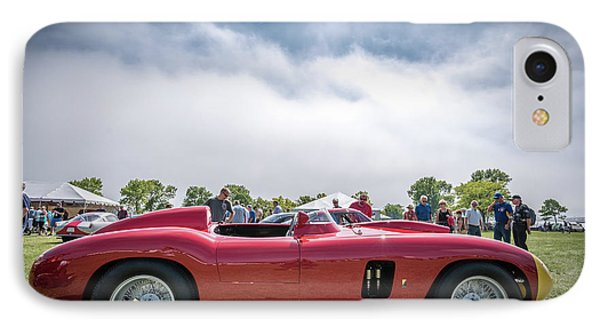 IPhone Case featuring the photograph 1956 Ferrari 290mm by Randy Scherkenbach