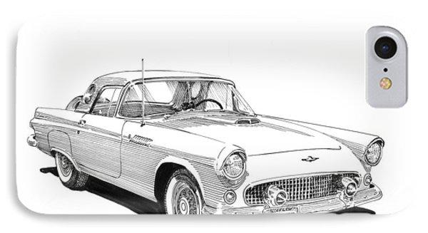 1956 Thunderbird IPhone Case