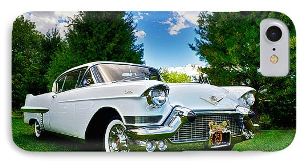 1957 Cadillac IPhone Case by Mark Miller