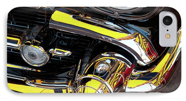 IPhone Case featuring the photograph 1957 Chevy by Roger Mullenhour