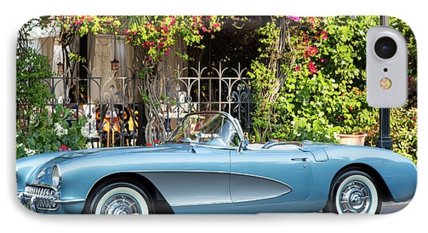 IPhone Case featuring the photograph 1957 Corvette by Brian Jannsen
