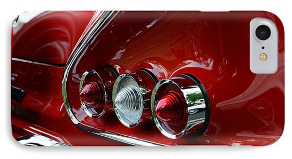 1958 Impala Tail Lights Phone Case by Paul Ward