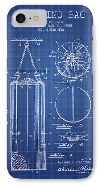 1958 Punching Bag Patent Spbx14_bp IPhone Case