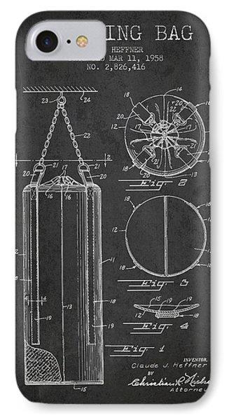 1958 Punching Bag Patent Spbx14_cg IPhone Case