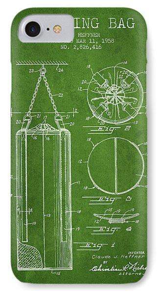 1958 Punching Bag Patent Spbx14_pg IPhone Case