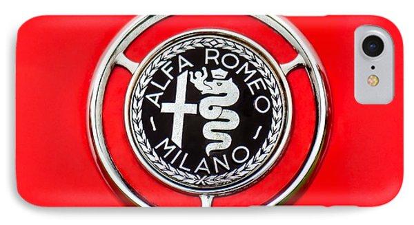 1959 Alfa-romeo Giulietta Sprint Emblem Phone Case by Jill Reger
