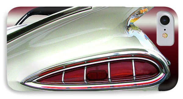 1959 Chevrolet Impala Tail Phone Case by Peter Piatt