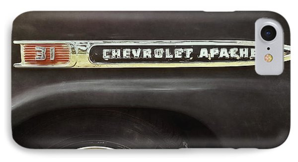 Truck iPhone 7 Case - 1959 Chevy Apache by Scott Norris