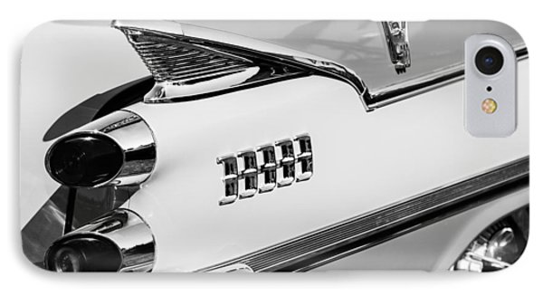 1959 Dodge Coronet Tail Lights -0928bw IPhone Case by Jill Reger