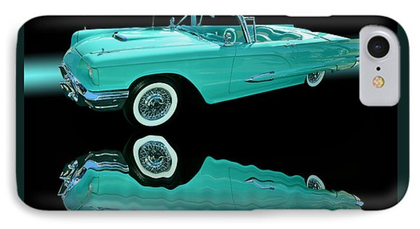 1959 Ford Thunderbird Phone Case by Jim Carrell