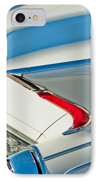 1960 Cadillac Eldorado Biarritz Convertible Taillight Phone Case by Jill Reger