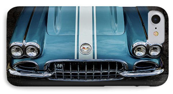 IPhone Case featuring the photograph 1960 Corvette by M G Whittingham